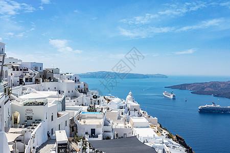 浪漫爱琴海美景图片