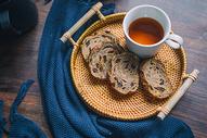 早餐面包咖啡图片