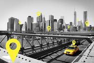 城市定位图片