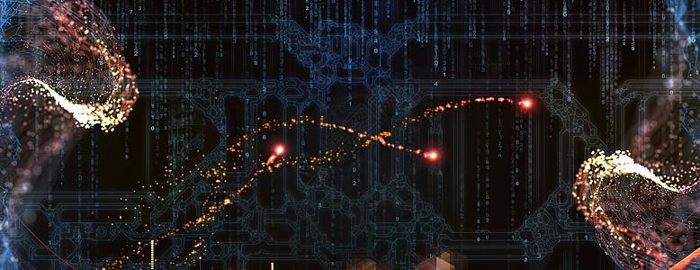 炫酷信息科技背景图片