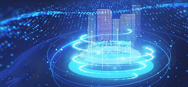 创意星空信息科技背景图片