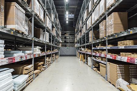 物流家具包装货柜仓库图片