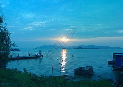 无锡太湖早上图片