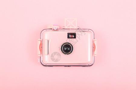 粉色相机图片