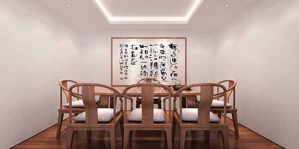 禅意茶室图片
