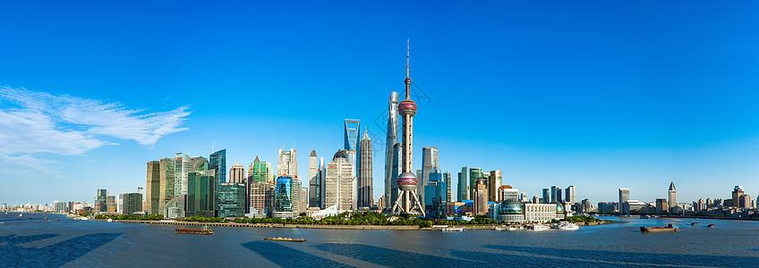 上海地标全景图图片