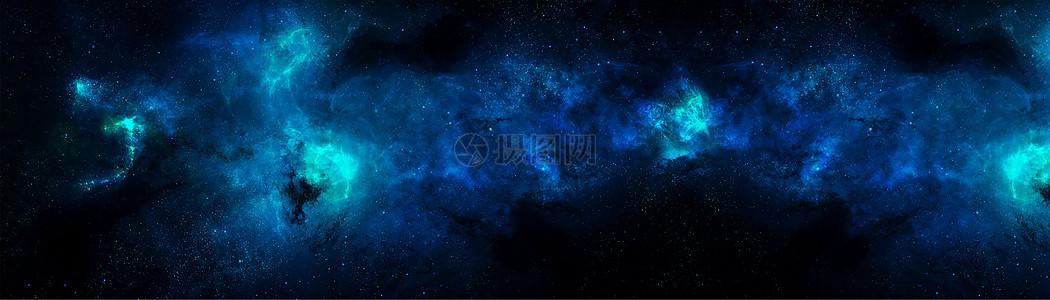 宽版星空大背景图片