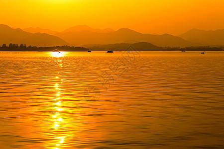 温柔的夕阳图片