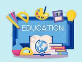 画板中的创意教育图片