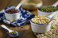 豆类静物背景素材图片