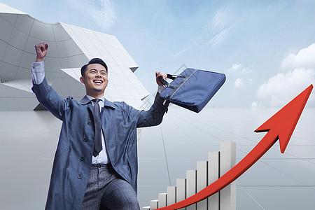商业向上发展图片