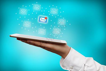 商务短信科技图片