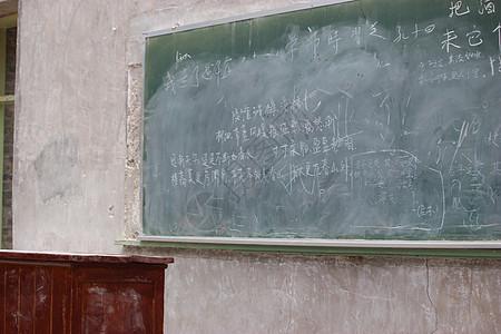 校园里的黑板图片