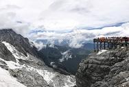 云南风景 泸沽湖 玉龙雪山图片