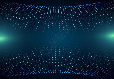三维立体球酷炫背景图片