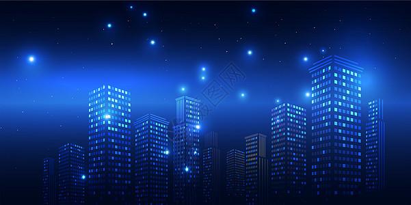 城市高楼科技效果图片