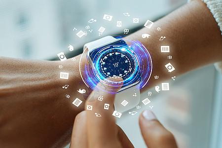 智能电子信息科技图片