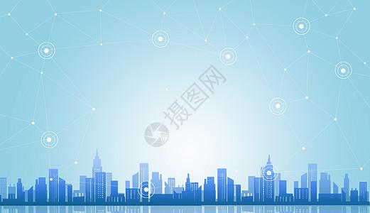 创意城市科技图片