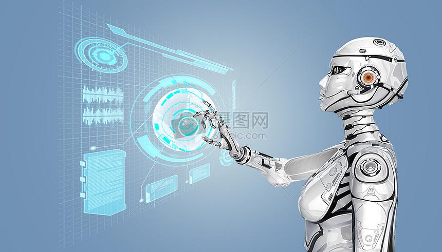 智能虚拟科技机器人点击应用