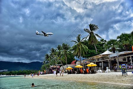 泰国苏梅岛查汶海滩高清图片