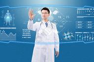科技医疗男士图片