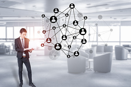 商务办公科技图片