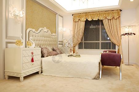 大气的欧式卧室照片图片
