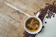咖啡豆素材图片