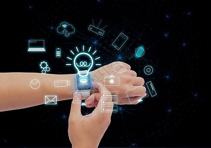 高科技智能手表图片