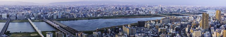 大阪城市景观图片