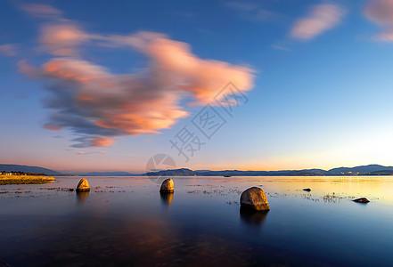 大理湿地自然风光美景图片