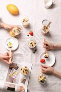 下午茶甜品图片