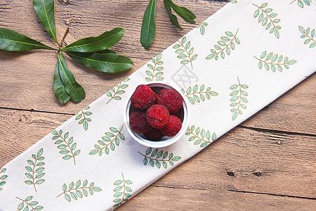 夏季水果香甜杨梅图片