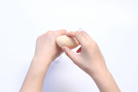 粉底打底美妆蛋图片