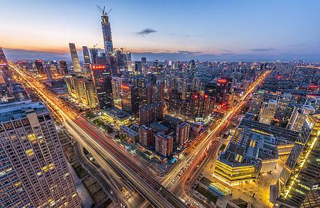 北京城市天际线图片