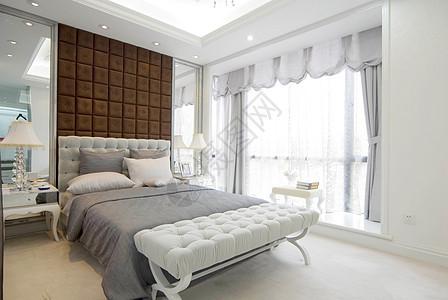 现代卧室样板间照片图片