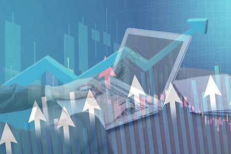 电脑操作股市数据图片