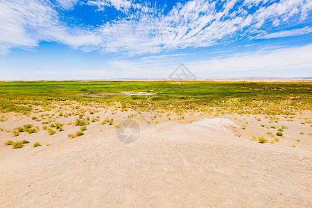 玉门关外的戈壁旷野图片