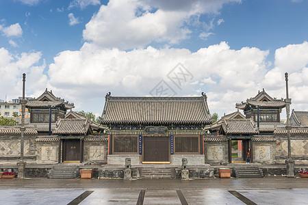 大同关帝庙图片