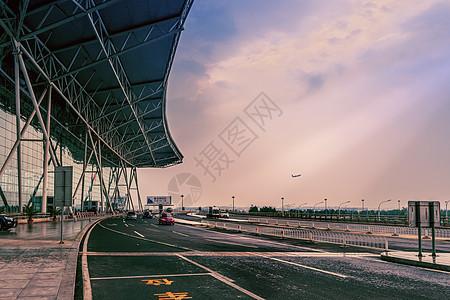 天津机场图片
