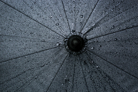 夏日暴雨风景图片
