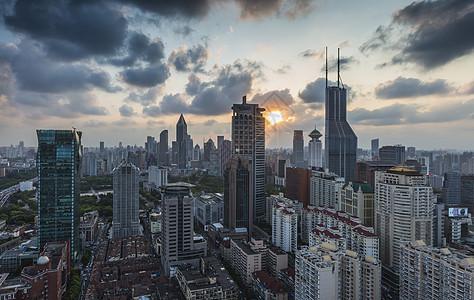 上海风光 暮光城市图片