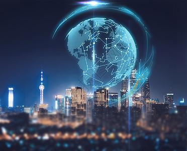 城市信号散发的科技知识图片
