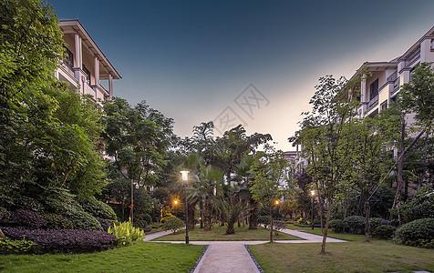 别墅小区内景图片