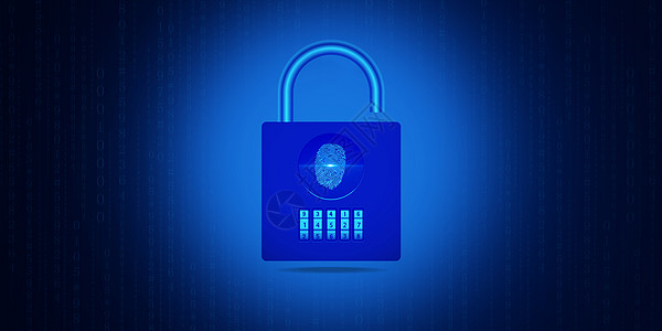 安全指纹密码锁图片
