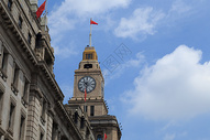 上海海关钟楼图片