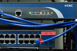 网络通讯信息服务机房数据线图片