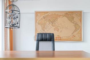 总裁办公室大办公桌图片