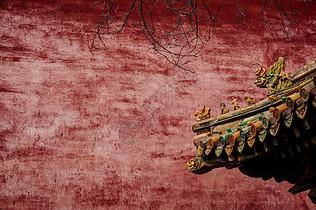 故宫琉璃瓦图片