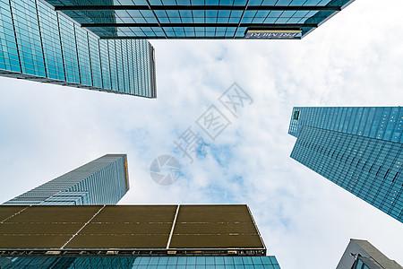 建筑玻璃外立面图片